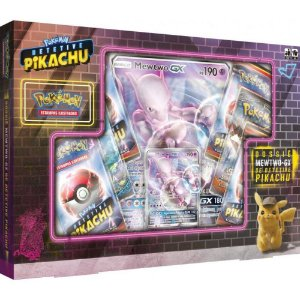 Box Pokemon Dossiê Detetive Card Mewtwo Gx Copag Ultra