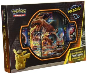 Box Pokemon Dossiê Detetive Card Charizard Gx Copag Ultra