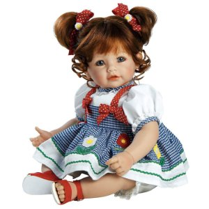Bebe Reborn Vestido Florzinhas Daisy Adora Doll