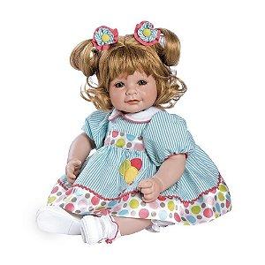 Bebe Reborn Envio Imediato Vestido de Bolinha Up Up