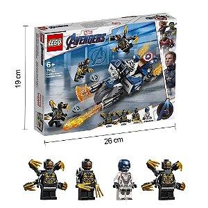 Lego Vingadores Ultimato Avengers End Game Lego Capitão America