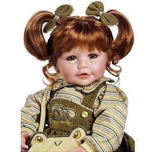 Bebe Reborn Vestido Sapinho Verde Froggy Adora Doll
