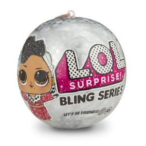 Lol Bling Lol Surprise com 07 Surpresas Original Candide