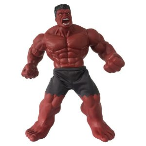 Boneco Gigante 50 Cm Disney Marvel Revolution Hulk Vermelho Mimo