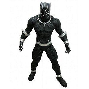 Boneco Articulado Pantera Negra Marvel Vingadores 50CM Mimo