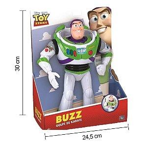 Boneco Buzz Lightyear Golpe de Karatê Toyng