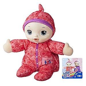 Boneca Baby Alive Soninho Macacão Rosa Saco de Dormir E1088