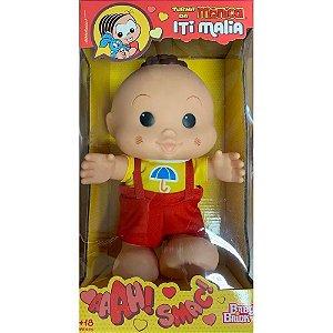 Boneco Cascão Turma da Mônica Iti Malia Baby Brink