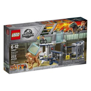 Lego Jurassic World A Fuga Do Laboratório Fera Dinossauro 222pcs