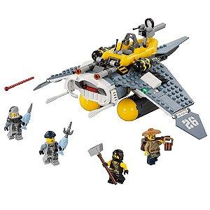 70609 Ninjago LEGO Manta Ray Bomber Nave com Personagens LEGO