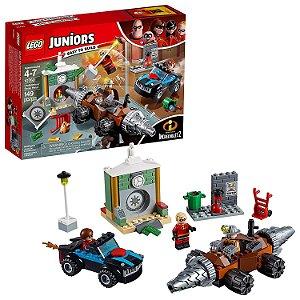 Lego Junior Disney Pixar Os Incriveis Assalto Ao Banco 10760 Homem Topeira