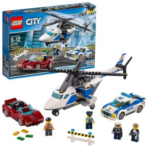 Lego City Perseguição em Alta Velocidade 60138 Policia de Helicoptero