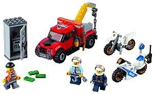 Lego City Caminhão Reboque em Problemas com a Policia 60137