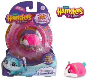 Miniatura Hamster Colecionavel Animal Brinquedo com Vida Zuru