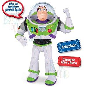 Buzz Lightyear com Som Toy Story 4 Toyng 35716 Patruleiro