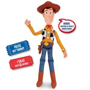 Boneco Woody c/ Som Toyng Falante Interativo Toy Story 4