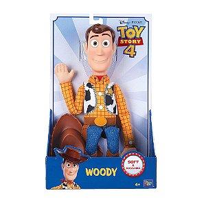 Boneco Xerife Woody em Vinil Macil Toyng Toy Story 4 Sem Som