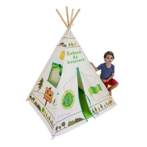 Toca Barraca Tenda Grande Infantil Cabana Camping Acampamento