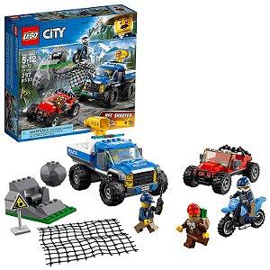 Lego City Perseguicao Em Terreno Acidentado 60172
