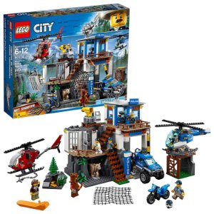 Lego City Quartel General Da Policia Na Montanha - 60174