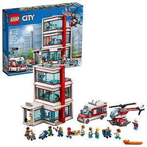 Lego City - Hospital da Cidade Lego City 861 peças 60204