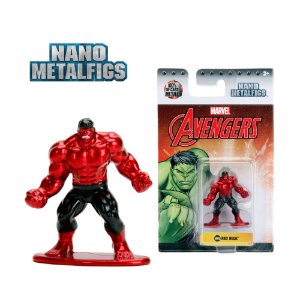 Mini Figuras Metal Nano Metalfigs Marvel Avengers Kit 3 und