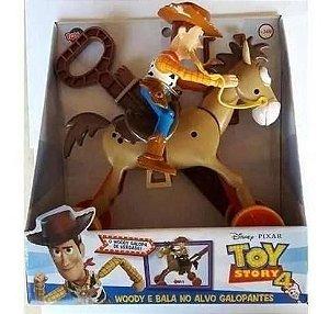 Boneco Woody Com Bala No Alvo Galopante Toy Story Toyng