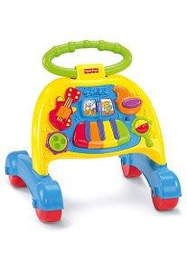 Andador Infantil Musical com Atividades Basics Fisher Price