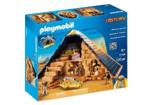 Playmobil Piramide do Faraó Quéops History 5386