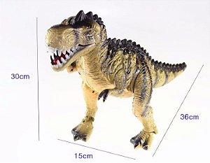 Dinossauro Gigante T-Rex Anda Emite Som e Luz
