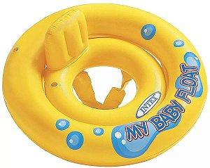 Bóia para Bebês Inflável Amarela para Praia