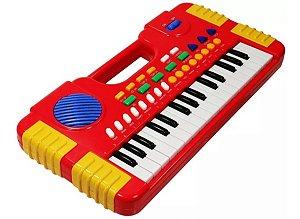 Piano Infantil 30 Funções tipo Piano Animal para Crianças