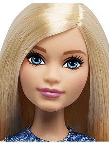 Barbie Fashionistas Boneca Plus Size Fashionistas 22 Loira