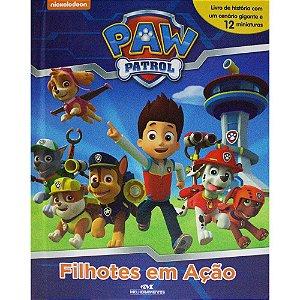 Livro Paw Patrol-Filhotes Em Ação - Patrulha Canina