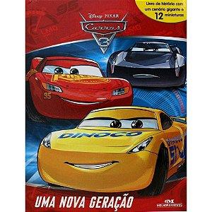 Livro Disney Carros 3 Com 12 Miniaturas Melhoramentos