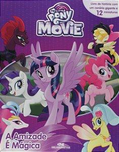 Livro My Little Pony A Amizade É Mágica 12 Miniaturas