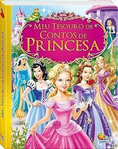 Livro Coleção Meu Tesouro De Contos De Princesa