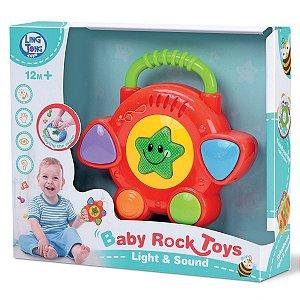 Mini Tambor Divertido Colecionável Brinquedo Com Som Bebês