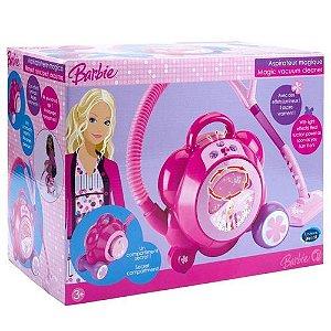 Aspirador de Pó Mágico da Barbie com Luz e Som