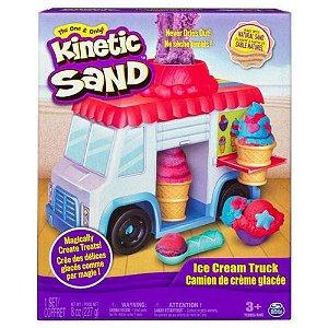 Massa Areia Carro de Sorvete Kinetic Sand - Sunny 1806