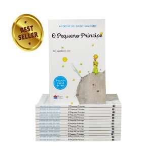 Livro Pequeno Príncipe 96 Páginas Barato Criança E Adulto