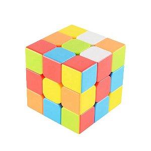 Cubo Mágico Semi-Profissional Speed Cubo Velocidade Controle de Tensão Corte de Quina