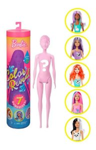 Barbie Color Reveal Estilo Surpresa com 7 surpresas