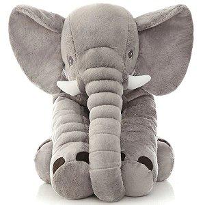 Elefante Almofada Bebês Cinza Buba