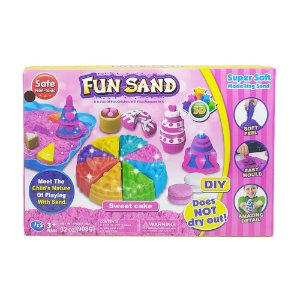 Massa Areia Bolo Fun Sand Sweet Cake