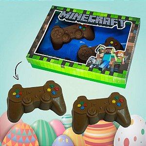 Controle De Chocolate Recheado Trufado Minecraft