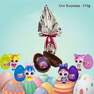 Ovo de Chocolate Belga ao Leite Surpresa Lol 210 g