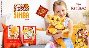 Pelúcia O Rei Leão Amor de Filhote Simba Roma Disney