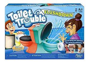 Brinquedo Jogo De Mesa Banheiro Maluco O Duelo Hasbro E3257