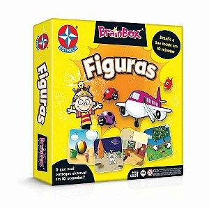 Jogo de Tabuleiro BrainBox Figuras Estrela